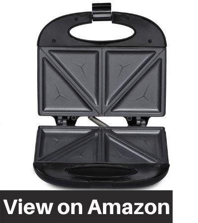 Agaro-33185-Elegant-Sandwich-Maker-800-W-with-4-Slice-Non-Stick-Fixed-Plates