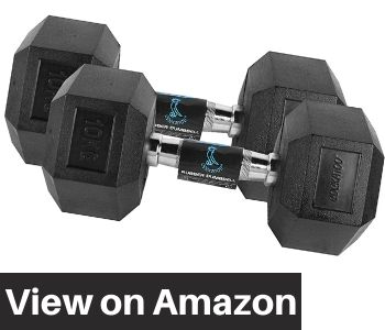 Cockatoo-rubber-coated-professional-Hex-dumbbell-set