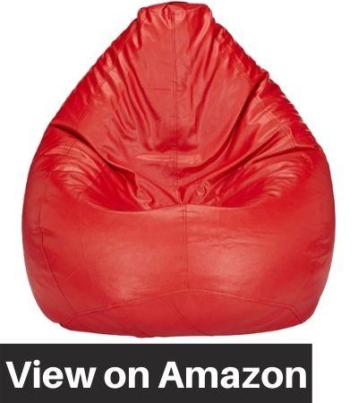 Amazon-Brand-Solimo-XXXL-Bean-Bag-Cover-Red