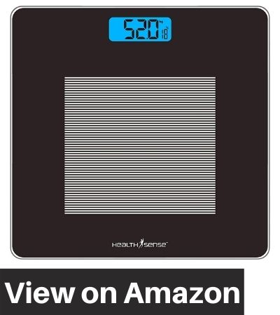 Health-Sense-Dura-Glass-Weighing-Scale