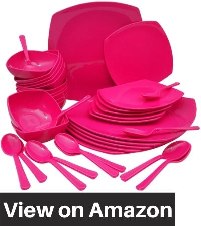 Homray-Plastic-Dinner-Set