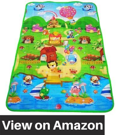 Skylofts-Waterproof-Double-Side-Baby-Play-Crawl-Floor-Mat