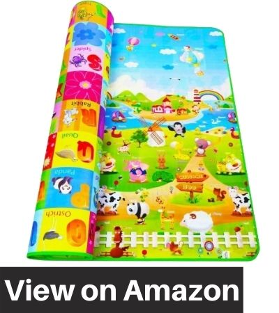 ZOSOE-Double-Sided-Water-Proof-Baby-Playing-Mat