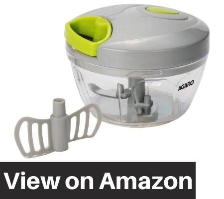 AGARO-Ninja-Vegetable-Fruit-Hand-Mini-Chopper