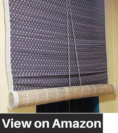 TCLPVC-W4:H8-WOOD14-Economy-Bamboo-Window-Blind-Chick