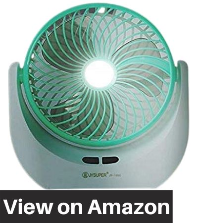 Piesome-Powerful-Rechargeable-Table-Fan