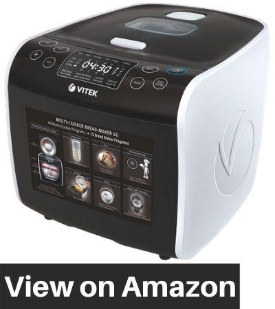 VITEK-VT-4209-BW-I-Smart-Chef-Multi-Cooker-Cum-Bread-Maker